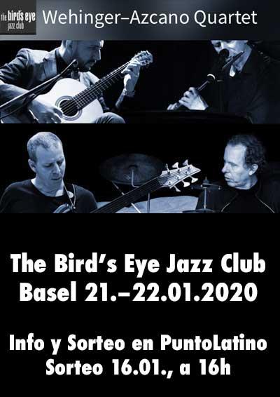 21.–22.01.20 Wehinger-Azcano Quartet
