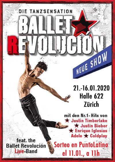 21.–26.01.20. Ballet Revolución
