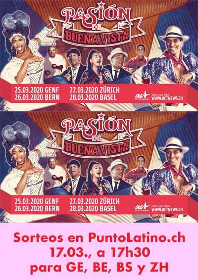 25.–28.03.20. Pasión Buena Vista (CUBA)