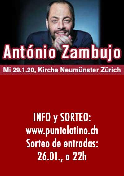 29.01.20. Antonio Zambujo, ZH