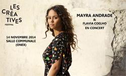 14.11.14. Mayra Andrade / Flavia Coehlho ONEX