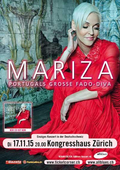 17.11.15. Mariza (Portugal), ZURICH