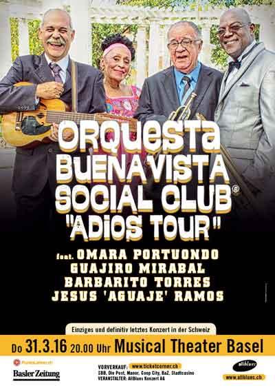 31.03.16., Orq. Buena Vista Social Club, Omara Portuondo, BS