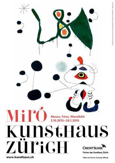 2016 ARTE Miró Kunsthaus ZH