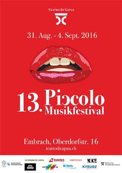 2016 Piccolo Musikfestival, Embrach (ZH)