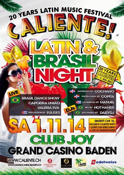 01.11.14. Caliente Brasil Night BADEN