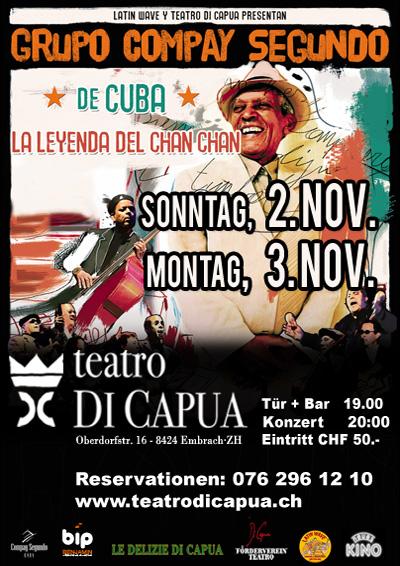 02.-03.11.14. Grupo Compay Segundo (Cuba) EMBRACH