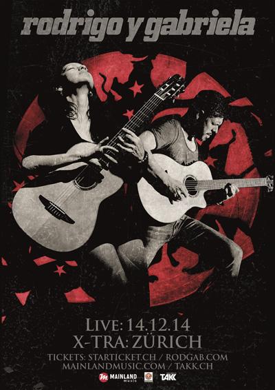 14.12.14. Rodrigo y Gabriela (México) ZURICH