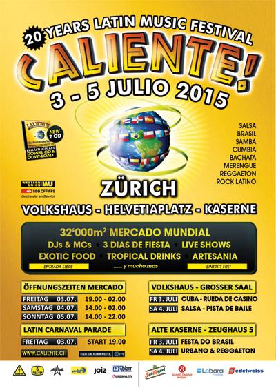 03.07.15. Caliente Festival, ZURICH