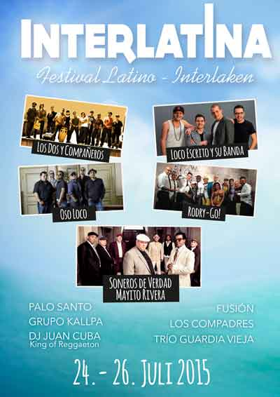 24.-26.2015. Festival Interlatina INTERLAKEN