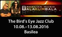 10.–13.08.16. Balakumbala Dúo (Brasil) BS