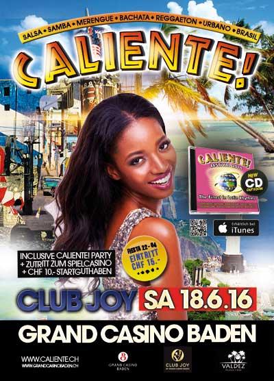 18.06.16. Caliente! Club Joy, Grand Casino Baden
