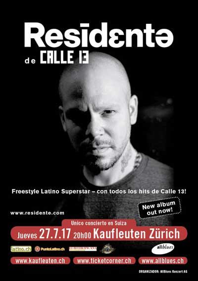 27.07.17. Residente de Calle 13, ZH