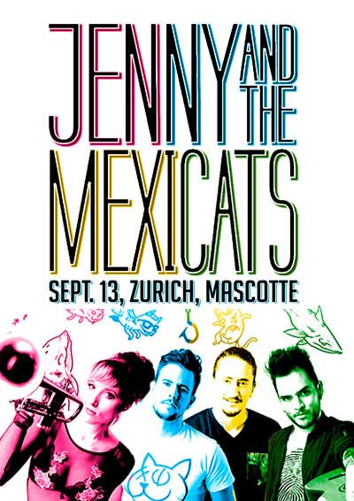 13.09.17. Jenny and the Mexicats (México)