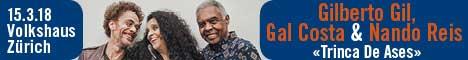 INTROSEITE 15.03.18., Allblues Gilberto Gil, Nando e Costa, ZH