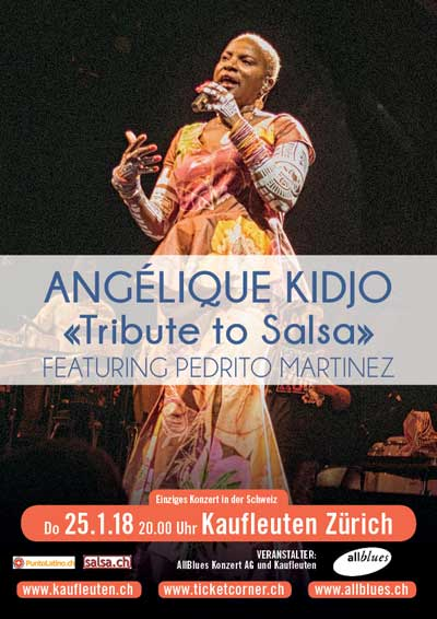 25.01.18. Angélique Kidjo (tribute to salsa)