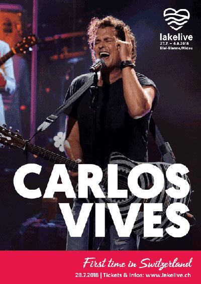 28.07.2018. Carlos Vives (Colombia), Biel