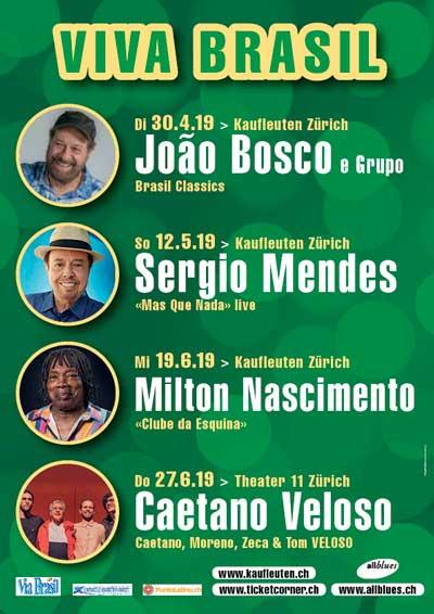 30.04.–27.06.19. Viva Brasil, ZH