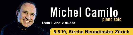 08.05.19. Michel Camilo, ZH