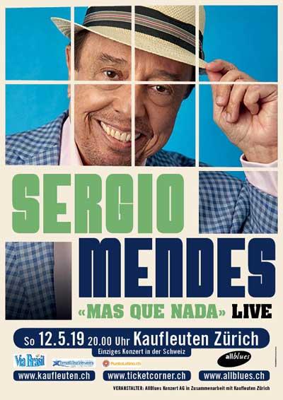12.05.19. Sergio Mendes (BRASIL), ZH