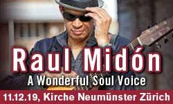 11.12.19. Raul Midón (ZH)