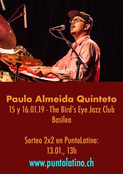 15.–16.02.19. Paulo Almeida Quinteto, BS