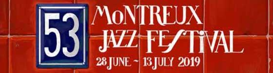 28.06.—13.07.2019. Montreux Jazz Festival