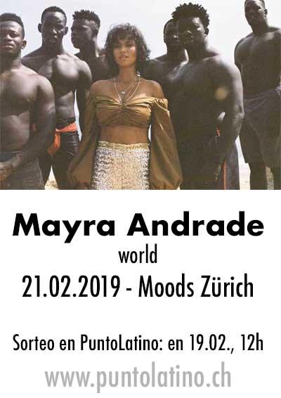 21.02.19. Mayra Andrade, Moods ZH