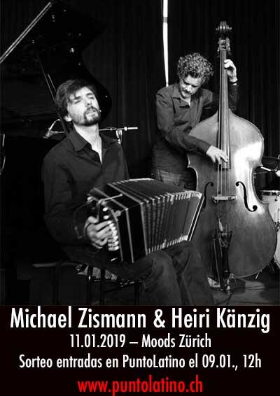 11.01.19. Michael Zisman & Heiri Känzig, Moods ZH