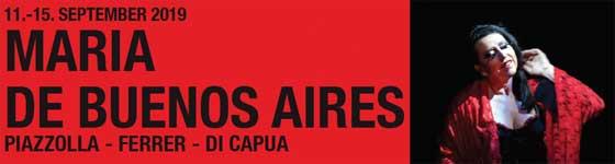 11.–15.09.19. María de Buenos Aires