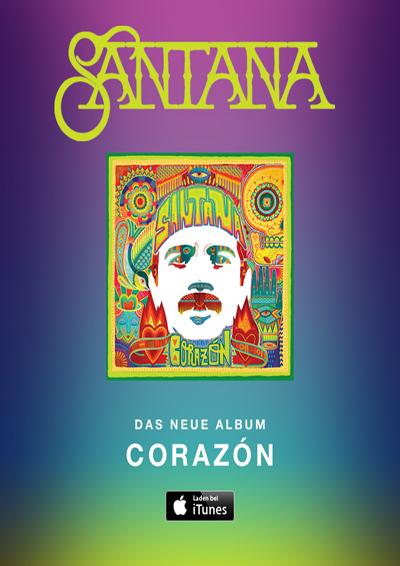 CDs Santana «Corazón» (México)