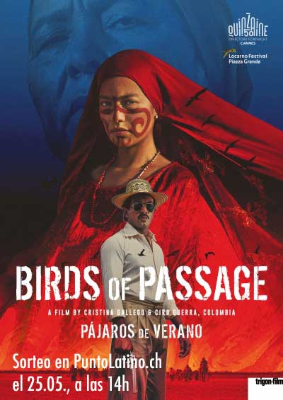 Dès 17.04.19. Pájaros de Verano (COL), Romandie