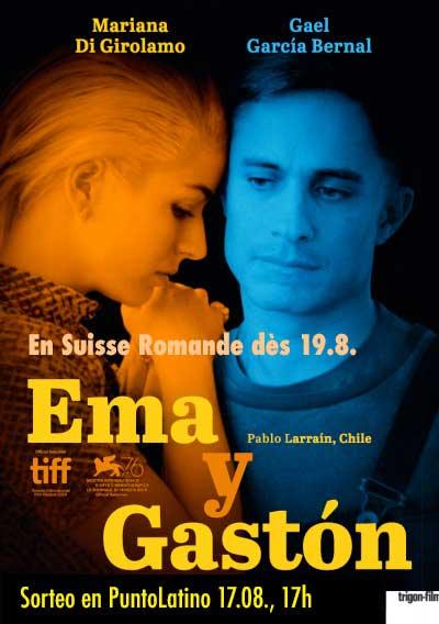 Romandie 19.08.20 CINE Ema y Gastón (CHILE)
