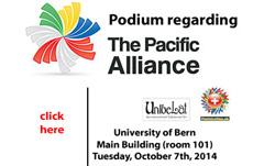 Pódium Alianza del Pacífico