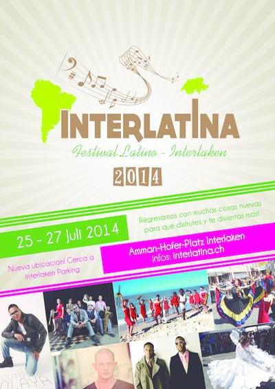 25.-27.07.14. Festival Interlatina INTERLAKEN