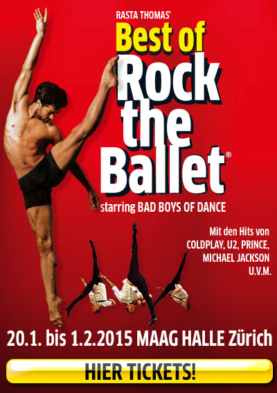 20.01.—01.02.15. Best of Rock the Ballet