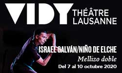07.–10.10. Galván/Niño Elche, Vidy